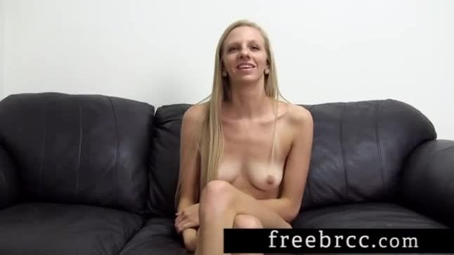 Tall blonde josie sucks and fucks her way thru a backroom casting couch audition